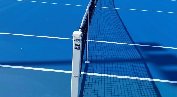 Ny tennisbana med hardcourt invigd i juli 2021